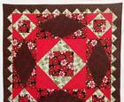 CHRISTMAS CHEER Quilt Pattern One Large Block Piecing from Magazine