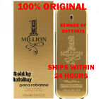 Paco Rabanne 1 Million 3.4 Ounce Eau De Toilette TESTER Spray for Men- BRAND NEW