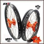 KKE 21/18 Cush Drive Enduro Wheels Rim Set For KTM 690 Enduro R 2008-2019
