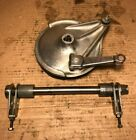 Honda cl350 cl 350 Rear Drum Brake Assembly and Axle