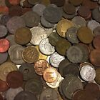 Old Foreign World Coin Lot 50 Coin Grab Bag Older newer No Duplicates