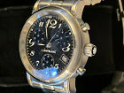 Montblanc Meisterstuck Star Chronograph Carbon Mens Watch 7038 6427