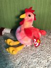 TY Beanie Babies STRUT The Rooster Retired 1996