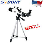 60mm F7 Solar Eclipse Refractor TelescopeFilterViewfinder for Solar Viewing US