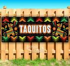 Taquitos Advertising Vinyl Banner Flag Sign Many Sizes Spanish Food