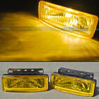 For Cavalier 5 x 175 Square Yellow Driving Fog Light Lamp Kit W Switch Harness
