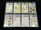 LOT OF 8 PKS HERO ARTS CLEAR STAMPS 82 TOTAL STAMPS BRAND NEW