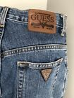 Vintage GUESS Blue Jeans High Waisted size 6 W28 L32