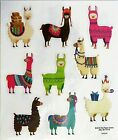 Llamas Pack Animals Packages Birthday Party Alpaca PS Clear Stickers