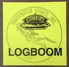 1998 SEATTLE TEXACO CUP LOGBOOM Underwater Sports STICKER Hydroplane boat b1