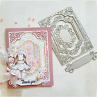Lace Frame Metal Cutting Die Stencil DIY Scrapbooking Card Embossing Paper Craft