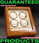 QUANYX QUAD AUTOMATIC MULTI-MODE WATCH WINDER BURL WOOD SELF-WINDING DISPLAY