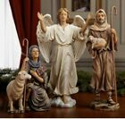 Three Kings Gift Real Life Nativity 3 Piece Shepherds and Angel 1025 inch size