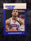1988-89 Kenner Starting Lineup Card Charles Barkley 76ers EXMT 674