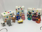 Avon Kids My First Christmas Story Nativity Collection Complete 9 Pc Set 1993