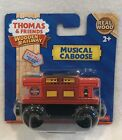 NEW Thomas & Friends Wooden Railway Musical Caboose