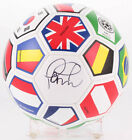 PHILIPPE COUTINHO SIGNED BARCELONA BRAZIL COUNTRY FLAGS SOCCER BALL BECKETT COA