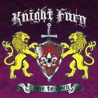 RUBICON MUSIC KNIGHT FURY CD Time To Rock + 2 From Japan