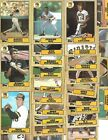 1987 Topps PITTSBURGH PIRATES Baseball 27-Card Team Set w Barry Bonds Rookie