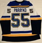 Colton Parayko St Louis Blues Authentic Adidas Away Jersey W Finals Patch (54)