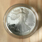 1990 S Walking Liberty SILVER American Eagle One Dollar Coin 1 Oz Silver In Case