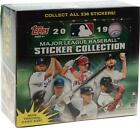 2019 Topps Sticker Collection Baseball Factory Sealed 50 Pack Hobby Box