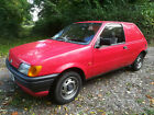 LARGER PHOTOS: FORD FIESTA MK3 VAN CLASSIC FORD OR DAILY DRIVER.