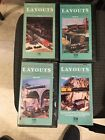 Great Toy Train Layouts Of America VHS Lot TM Books & Video Lionel