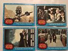 Star Wars 1977 Topps Trading cards, set of 4, #21, 31, 46, 54