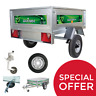 NEW DAXARA 127.2 / 127 CLASSIC BOX CAMPING CAR TRAILER - LIMITED STOCK REMAINING