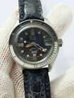 VINTAGE SQUALE WATCH MEDIUM DIVER TICIN 20 ATM AUTOMATIC MENS 36mm.JUST SERVICED