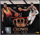 2017 18 Panini Crown Royale Basketball Factory Sealed Hobby Box