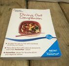WEIGHT WATCHERS 2011 Winning Points DINING OUT COMPANION Book