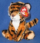 TY STRIPERS the TIGER BEANIE BABY - (NEW VERSION) - MINT with MINT TAGS