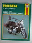 Honda Gold Wing GL1000 LTD K1 K2 USA KZ UK GOLDWING Shop Manual 1975-1979 MINT!