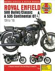 Royal Enfield 500 Bullet / Classic & 535 Continental Gt Haynes Service & Repa...
