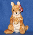TY WILLOUGHBY the KANGAROO BEANIE BABY - MINT with MINT TAGS
