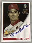 2002 TOPPS SUPER TEAMS STEVE CARLTON AUTO AUTOGRAPH ON CARD SP CARDINALS HOF