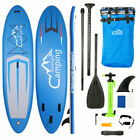 US Adult surfboard Inflatable SUP Stand Up Paddle Board aquaplane set 124 Blue