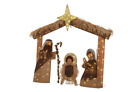 Christmas Nativity Scene Warm White Lighted 60 in Holiday Indoor Outdoor Decor
