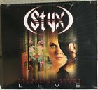STYX  Live The Grand Illusion And Pieces Of Eight 2 CD New Sealed Digipak