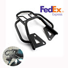 Motorcycle Modified Rear Shelf Refitted Tail Luggage Box Rack Bracket Set Black