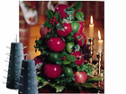 Apple Cone Colonial Williamsburg Tree Base for Fresh Fruit Holiday Centerpiece