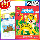 Preschool Workbook Kindergarten Letter Tracing book Early Learning School Zone