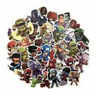50 Pcs Lot Stickers Avengers Super Hero For Car Laptop Luggage Skatboard Decal