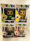 Funko Shop Exclusive Pop Vinyl Teletubbies Dipsy Laa-Laa Po Tinky Winky Set of 4