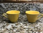 Two Vintage Harlequin Coffee Cups