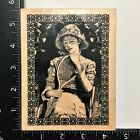 B Line Designs Afternoon Tennis Wood Mounted Rubber Stamp Woman Racket