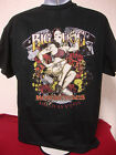 BIG DOG MOTORCYCLES 2-XL LIVE FAST SHIRT FRONT/BACK DESIGN CHOPPER MASTIFF MUTT