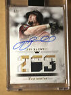 2018 Topps Luminaries Jeff Bagwell 3 Color Patch Auto 1 1 HOLY GRAIL!!!
